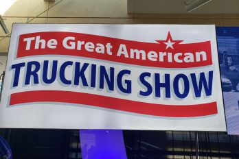 The Great American Trucking Show banner